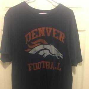 Old Navy Distressed Logo Denver Broncos T-Shirt